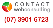 Contact WebConsulting - phone 07 39016723